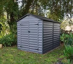 exterior mannington plastic garden suncast storage shed with