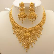gold rani haar sets 22 carat indian gold v shaped necklace set 72 grams gold forever