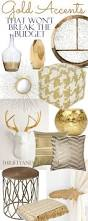 Home Accents by 25 Best Gold Home Decor Ideas On Pinterest Gold Accents Gold