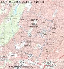 Newark Map War Of Yesterday South Orange Borders