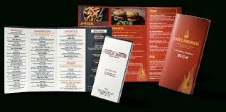 takeout menu template take out menu template template idea