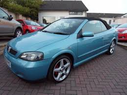 opel bertone used vauxhall astra convertible for sale motors co uk