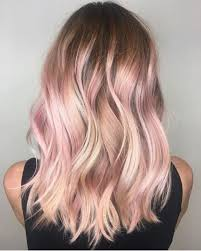 medium length hair with ombre highlights 54 pretty pink hair color ideas ombre highlights pink shades