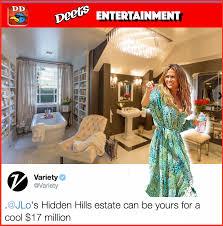 jennifer lopez mansion sale equals double down u2013 daily deets