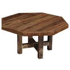 octagonal rustic barnwood dining table loccie better homes