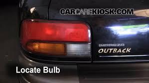2008 subaru outback brake light bulb brake light change 1993 2001 subaru impreza 1999 subaru impreza