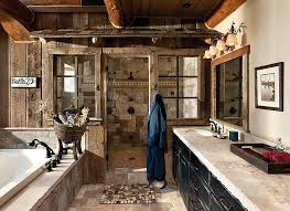 rustic bathroom design ideal relaxed rustic bathroom as as panels bring rustic