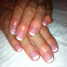 pretty nails and tea french manicure using fingerpaints soak off