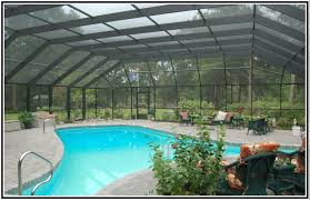 Pool Patios And Porches Pool Enclosure Designs Pool Enclosures And Screen Rooms Are An
