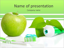 all for healthy teeth apple toothpaste and brush powerpoint