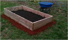 backyards chic diy backyard vegetable garden raised bed wooden