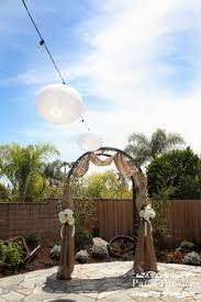 wedding arches in edmonton burlap wedding arch weddings ideas burlap wedding