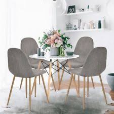 Grey Dining Table Chairs Grey Table And Chair Sets Ebay