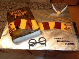 harry potter birthday cake from movie image inspiration of cake