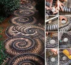 Creative Garden Decor 50 Garden Decorating Ideas Using Rocks And Stones