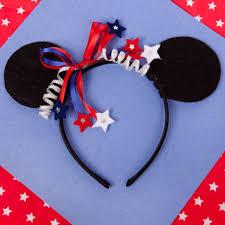 4th of july headbands minnie s 4th of july headband disney family
