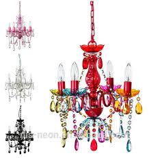 Multi Coloured Chandeliers 5 Light Multi Coloured Chandelier Ceiling Light For