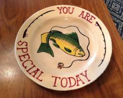 you are special today plate todays home plates etsy