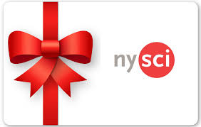 gift card new york of science gift certificates