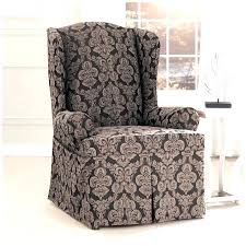 pottery barn chair and a half slipcover slipcovers for wingback chair slipcover chair wing chair slipcover