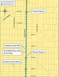 seattle map greenwood fremont ave in greenwood is getting a neighborhood greenway