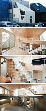 flat house design tsubomi house by flathouse spans across 7 levels in tokyo japan