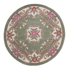 Green Round Rug by Round Rugs U2013 Next Day Delivery Round Rugs From Worldstores