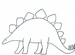 blank dinosaur template paper crafts for children dinosaur