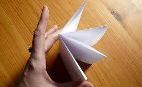 How To Make A Paper Beak - how to make an origami book brightly