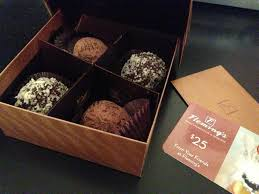 fleming s gift card fleming s handmade belgium chocolate truffles and 25 gift card