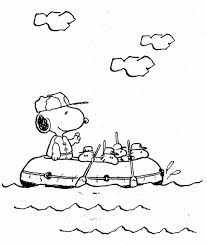 free snoopy coloring pages coloring