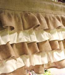 Smocked Burlap Curtains Brown Curtain Burlap Sack Curtains Window Treatments With Fringe