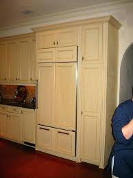 refrigerator that looks like a cabinet cabinet for refrigerator refrigerator enclosure custom look cabinets