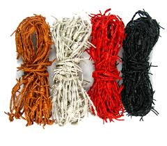 buy genuine barbed wire leather cord pick color u0026 lengt in cheap