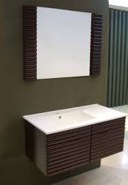 Bamboo Bathroom Vanities by Solid Bamboo Vanity With Mirror Free Shipping Today Overstock