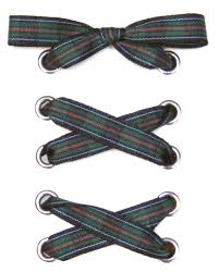 plaid ribbon all about shoelaces classic tartan plaid ribbon shoelaces
