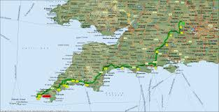 Plymouth England Map by Travel On A Concessionary Pass 2