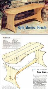 patio table plug 2 1 4 mortise bench plans outdoor furniture plans projects