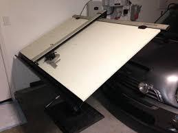Vemco Drafting Table Vemco V Track 612 Drafting Machine Arts Crafts In