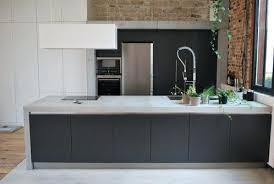 plan de travail cuisine effet beton plan de travail en beton ou plan travail en cuisine parquet plan de