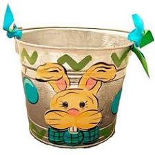 easter pails painted easter eggs easter pail 35 00 the mississippi