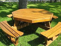 Exteriors Recycled Plastic Picnic Tables Cedar Hexagon Picnic by 25 Unique Octagon Picnic Table Ideas On Pinterest Octagon