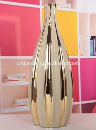 home decorative items musim home decorative items tall ceramic flower vase with golden