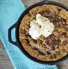 thanksgiving chocolate chip cookies lady u0027s chocolate chip skillet cookie modern honey