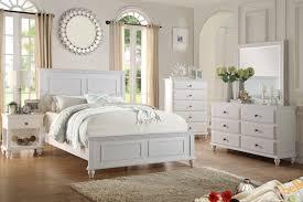 poundex f9270 white bedroom set
