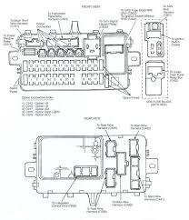 2004 honda civic fuse box honda wiring diagrams for diy car repairs
