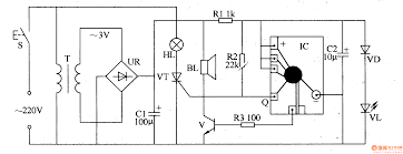 component wireless doorbell circuit melody electronics page other