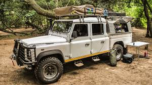 land rover defender off road modifications bbc autos the neverending road trip