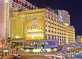 Las Vegas Hotels On The Strip Map by Cromwell Las Vegas