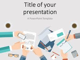 meeting presentation template business agenda editable powerpoint
